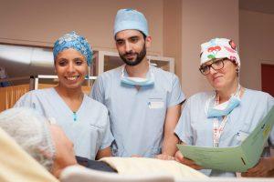 bloc-operatoire-traitement cancer du poumon - service chirvtt - bichat